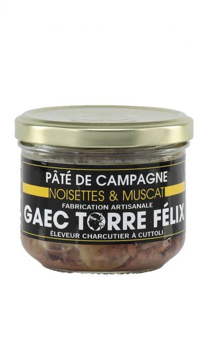 Félix Torre Terrine de Campagne Noisettes & Muscat 185 gr