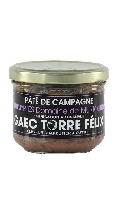Félix Torre Terrine de Campagne aux Myrtes du Domaine de Murtoli 185 gr