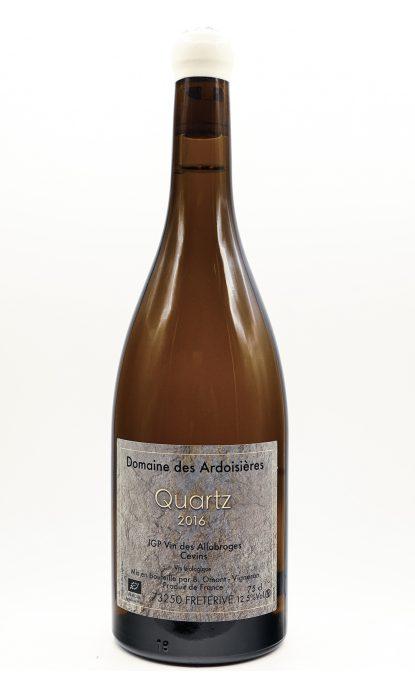 Domaine des Ardoisières vin des Allobroges Quartz blanc 2017
