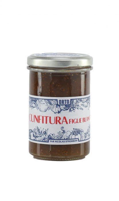 Orto Confiture Figue blanche 240 g