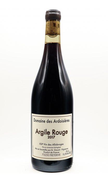 Domaine des Ardoisières vin des Allobroges Argile rouge 2019