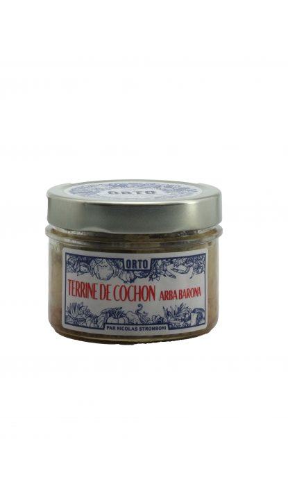 Orto Terrine de Cochon à l'Arba barona 180 g