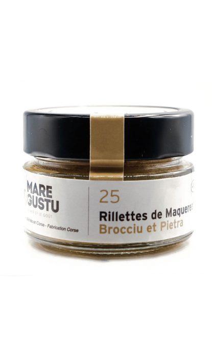 Mare & Gustu Rillettes Maquereau Brocciu Pietra 100 gr