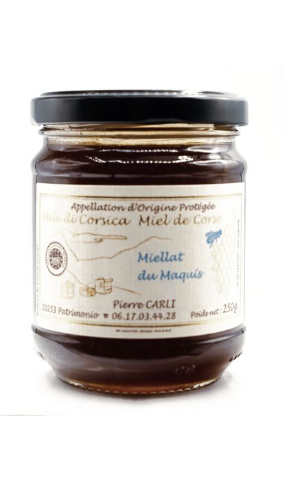 Pierre Carli Miellat Maquis 250 gr