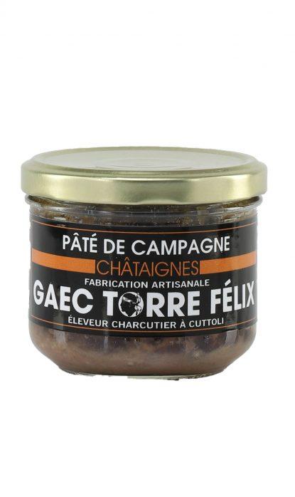 Félix Torre Terrine de Campagne Châtaignes 185 gr