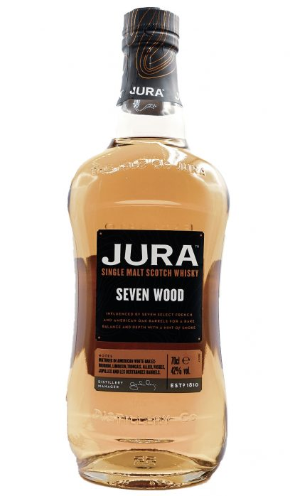 Jura Seven Wood Of 42% 70 cl