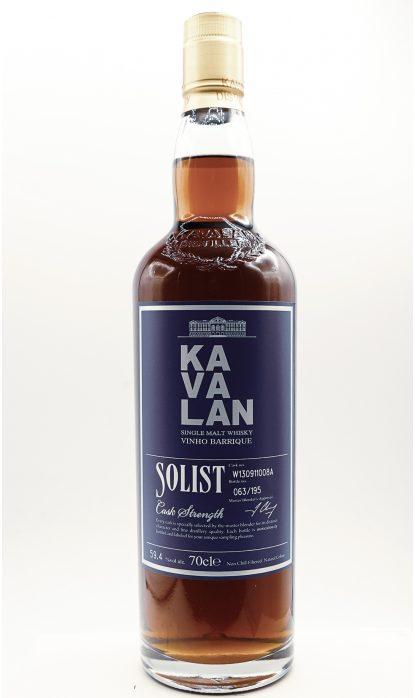 Kavalan Solist Vinho Barrique 59.4 % 70 cl