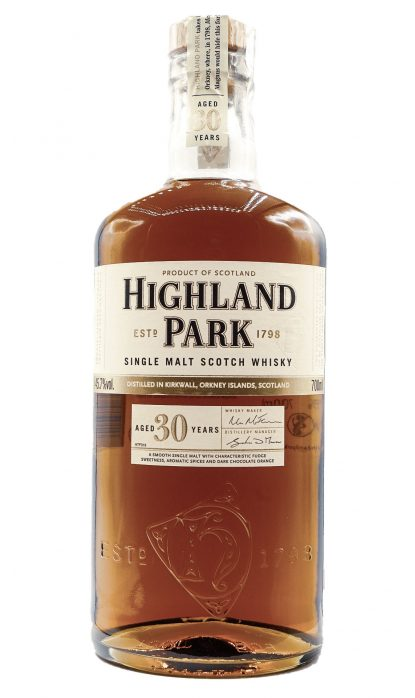 Highland Park 30 Ans Caisse Bois 45.70% 70 cl