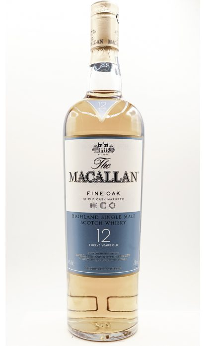Macallan 12 Ans Fine Oak 40% 70 cl
