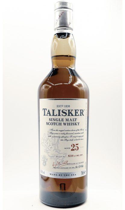 Talisker 25 Ans 59.90% 70 cl