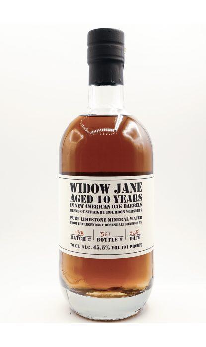 Widow Jane 10 Ans Bourbon 45.50% 70 cl
