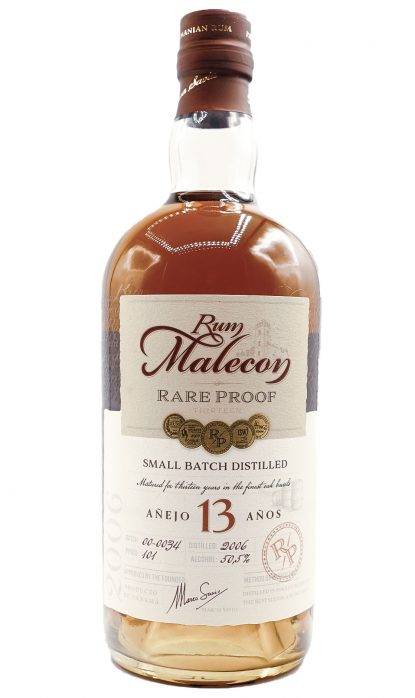 Malecon 13 Ans Rare Proof 50.50% 70 cl