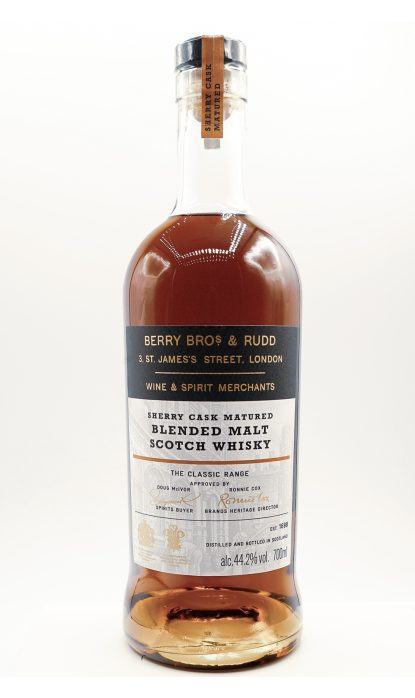 Berry Brothers Classic Range Sherry Cask 44.20% 70 cl