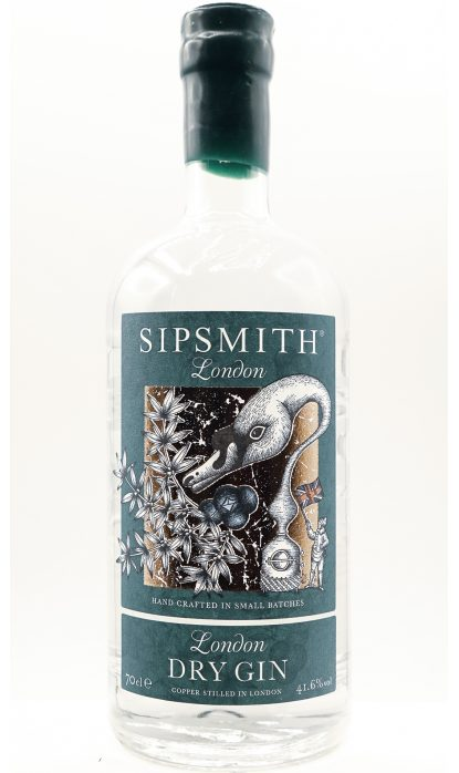 Sipsmith London Dry Gin 41.60% 70 cl