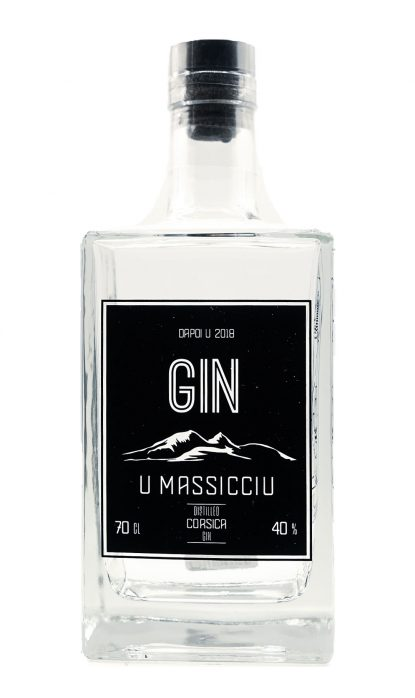 U Massicciu Gin Corse 40% 70 cl