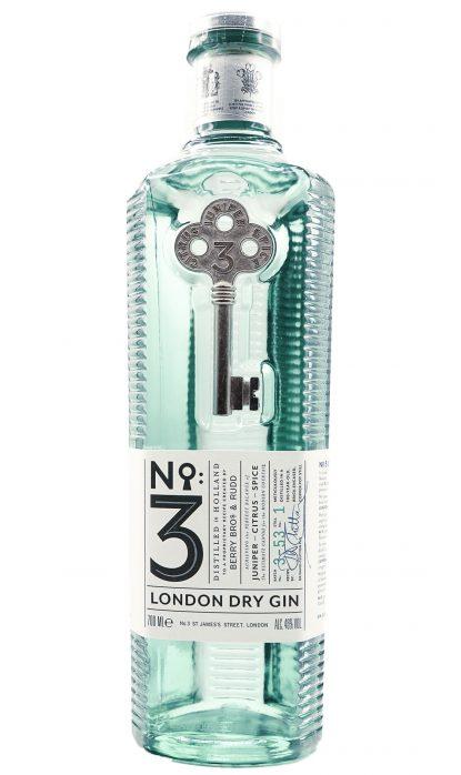 N°3 London Dry Gin 46% 70 cl