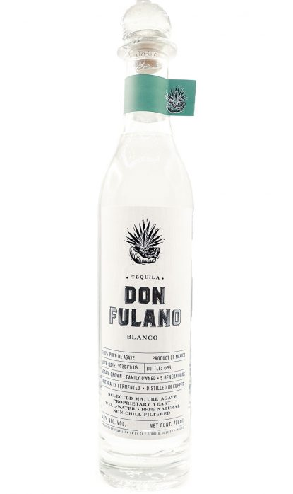Don Fulano Tequila Blanco 40% 70 cl
