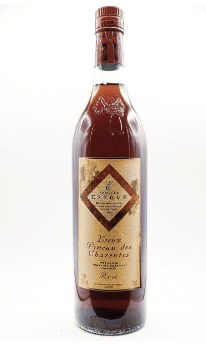 Cognac Estève Vieux Pineau rosé 17% 75 cl