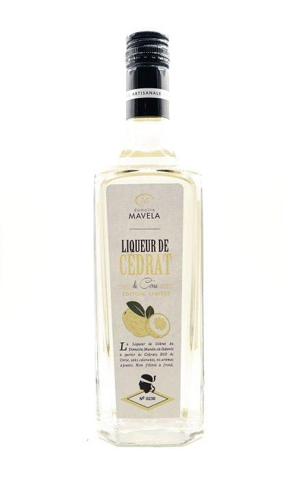 Domaine Mavela Liqueur de Cédrat 26% 70 cl