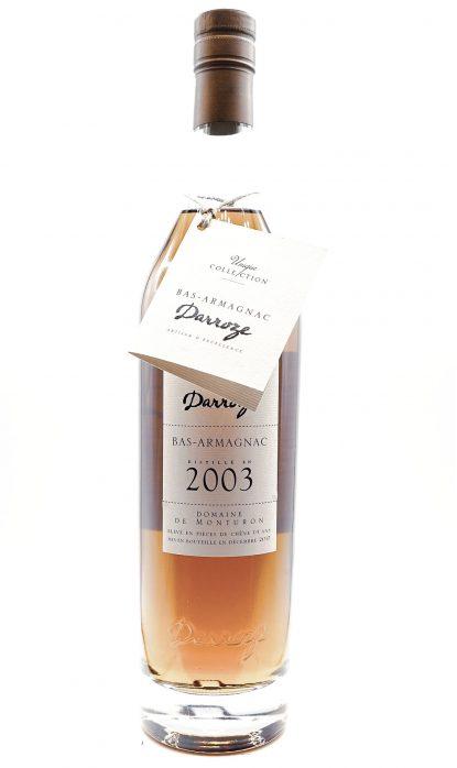 Darroze Bas Armagnac Domaine de Monturon 2003 50% 70 cl