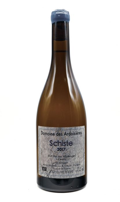 Domaine des Ardoisières vin des Allobroges Schiste blanc 2017