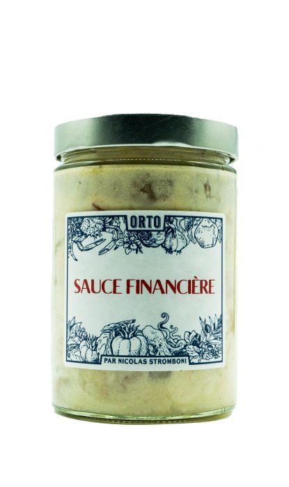 Orto Sauce Financière 480 gr