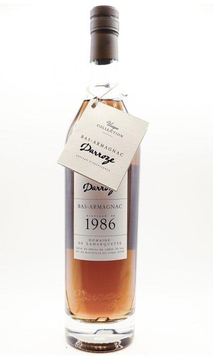Darroze Bas Armagnac Domaine de Lamarquette 1986 49.5% 70 cl