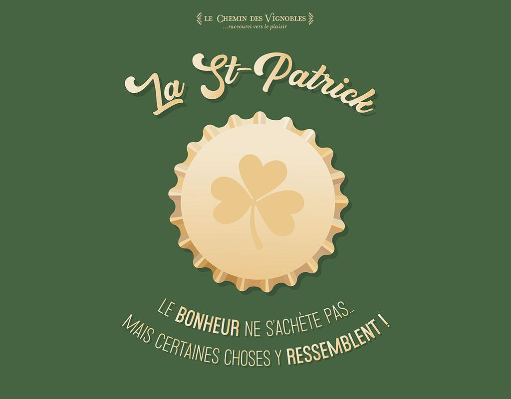 La Saint Patrick au Chemin des Vignobles